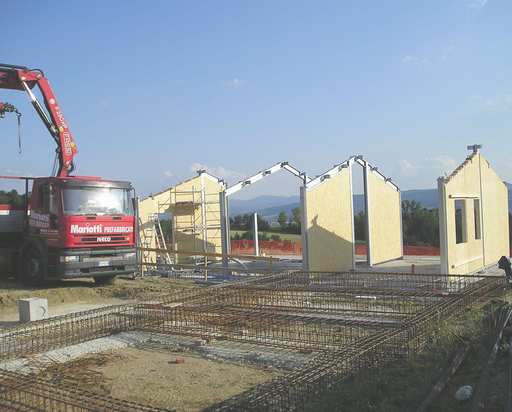 Case prefabbricate in legno umbria mariotti prefabbricati for Case in legno umbria