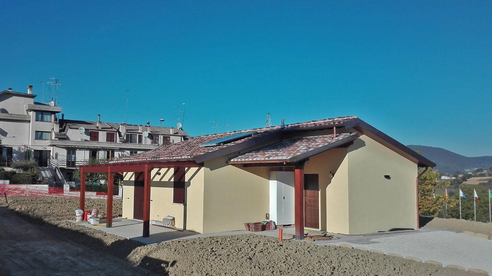 Case in acciaio e legno umbria mariotti prefabbricati - Chiavi in mano casa ...