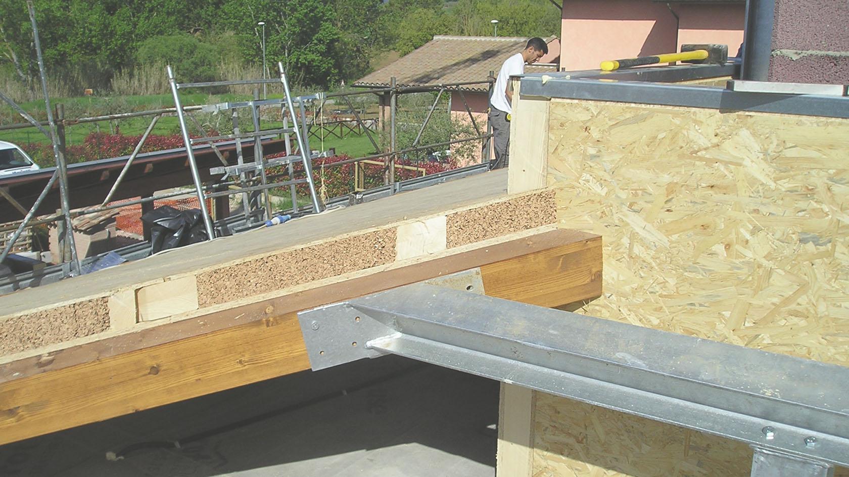 Tetti prefabbricati in legno - Sistema Tetto Sisto