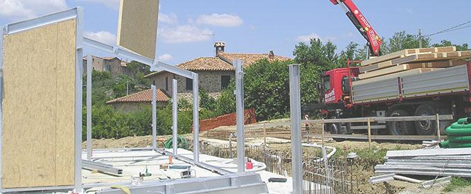 Prefabbricati legno e acciaio - Sistema Mariotti Home