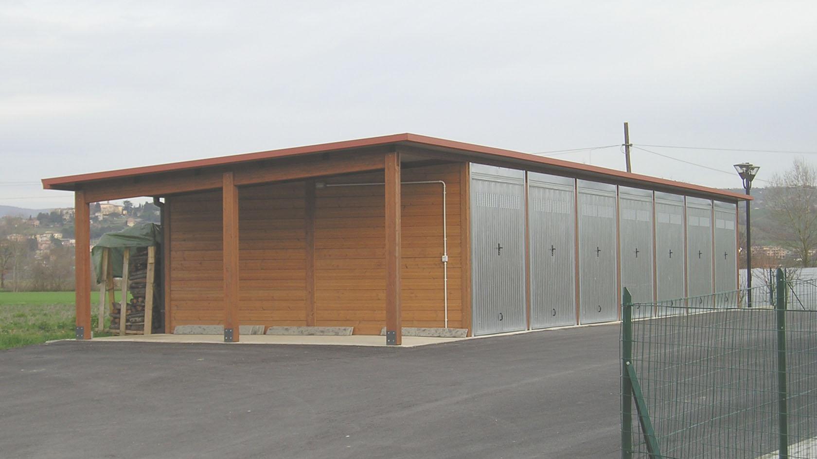 strutture prefabbricate in legno tettoie prefabbricate