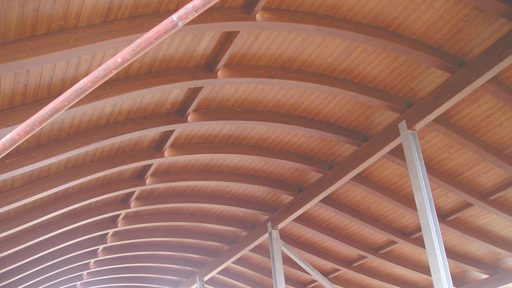 Strutture prefabbricate in legno - Mariotti Prefabbricati